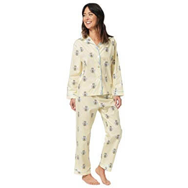 Women's Pajamas Bee Pattern