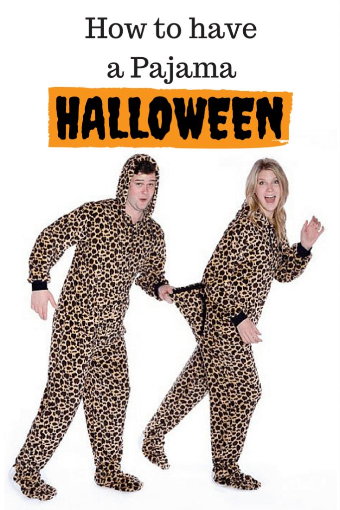 pajama halloween