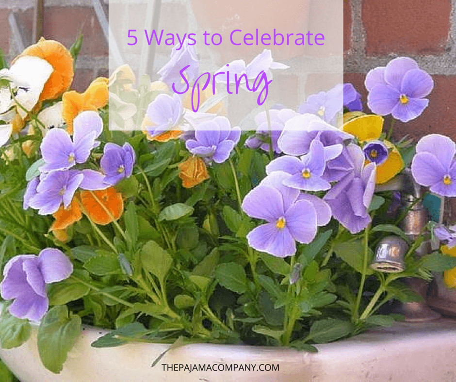 5 ways to celebrate spring