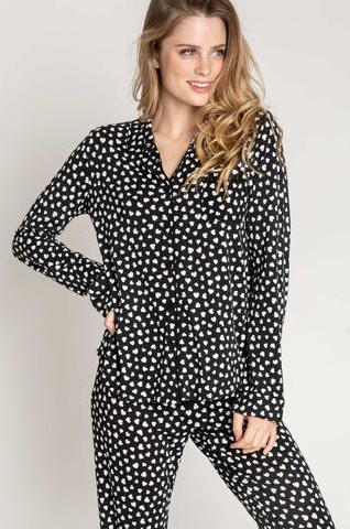 PJ Salvage Give Love Classic Pajama Set