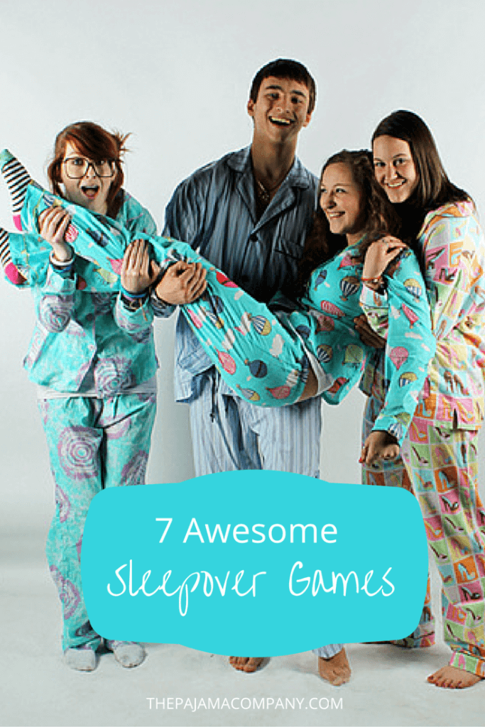 7 awesome sleepover games