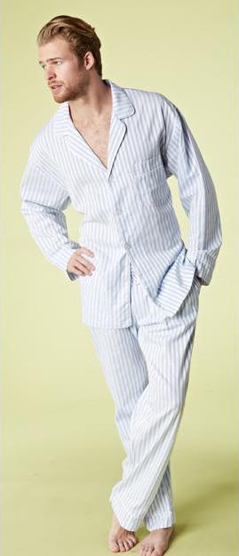 Bedhead Men's 3D Stripe Cotton Pajama Set