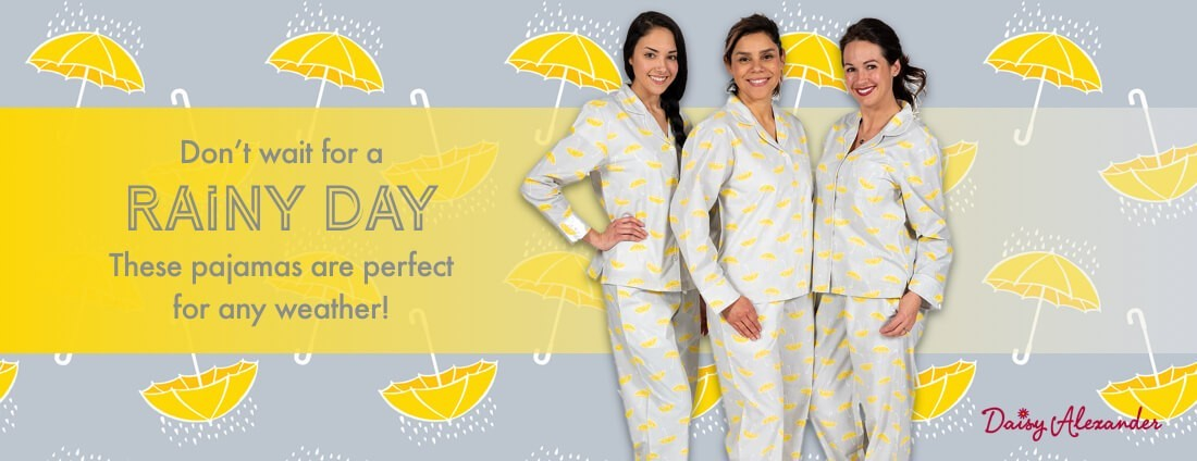 Best Rainy Day Pajamas daisy alexander