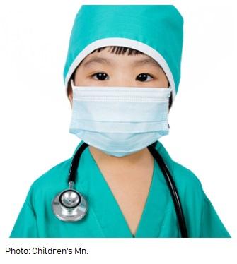 Child dr costume