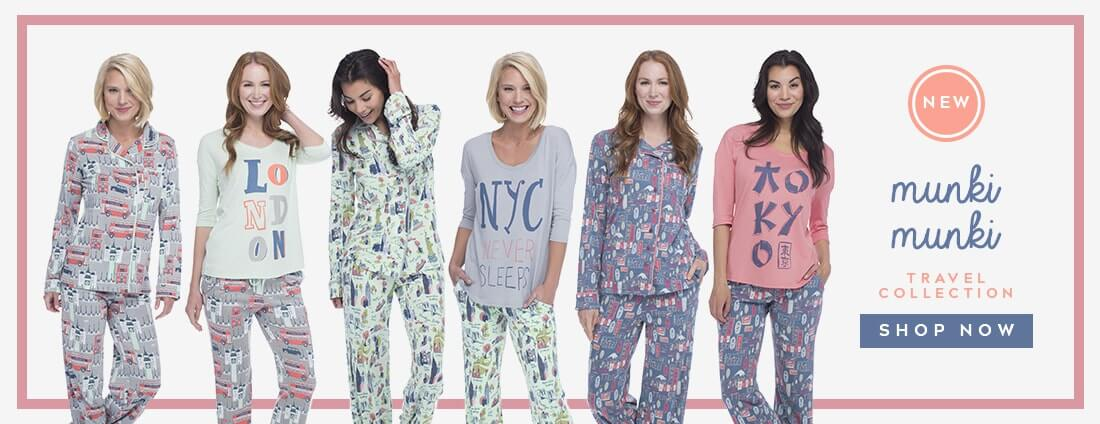 Munki Munki Travel Collection Pajamas