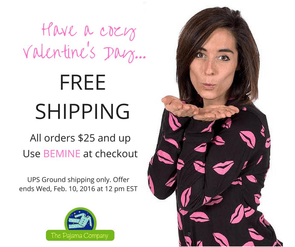 V-day free shipping