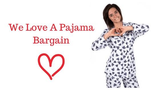 We Love A Pajama Bargain Blog header
