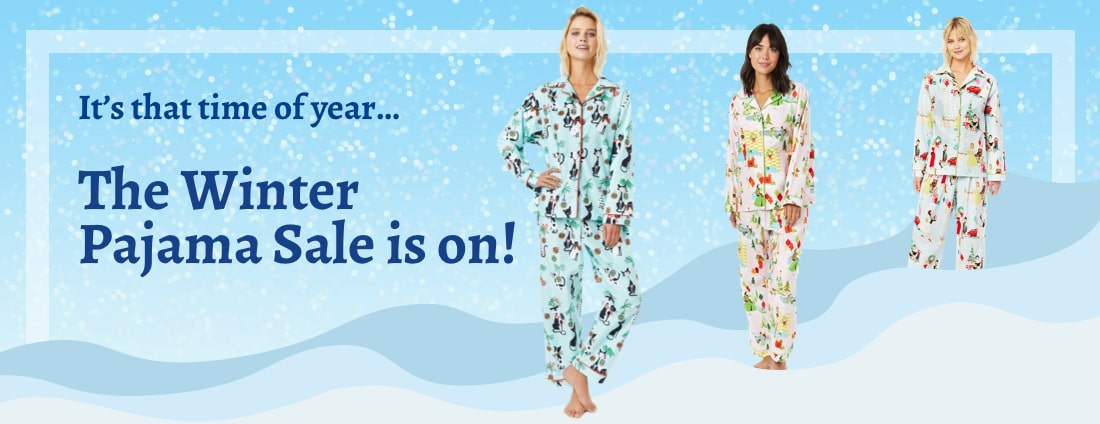 Winter Pajama Sale 2019