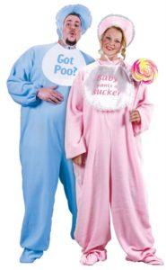Baby in Footy Pajamas Halloween Costume Idea