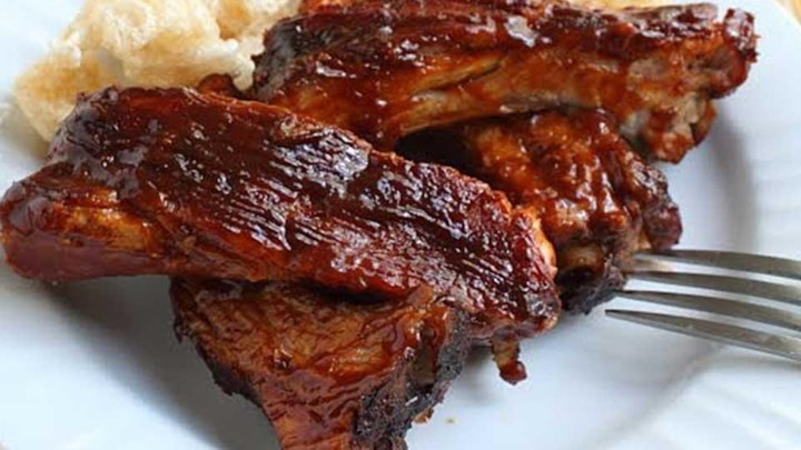 Oven-Baked BBQ Baby Back Ribs