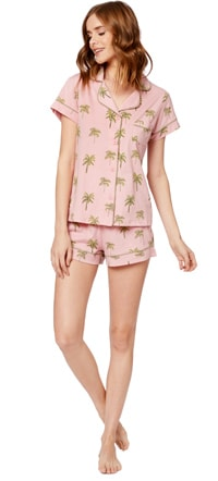 The Cat's Pajamas Pink Shorts Set