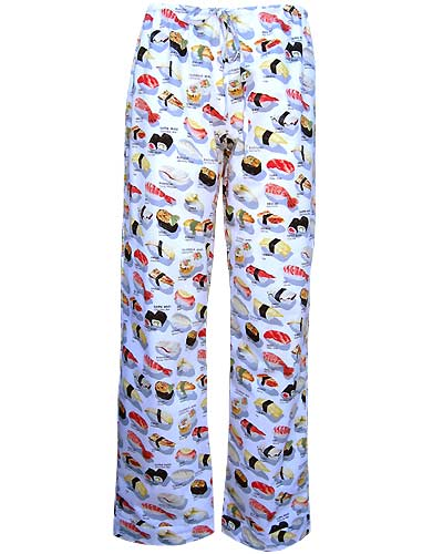 Unisex Sushi Pajama Pants for Back to College