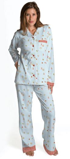 Cookie Flannel Pajamas