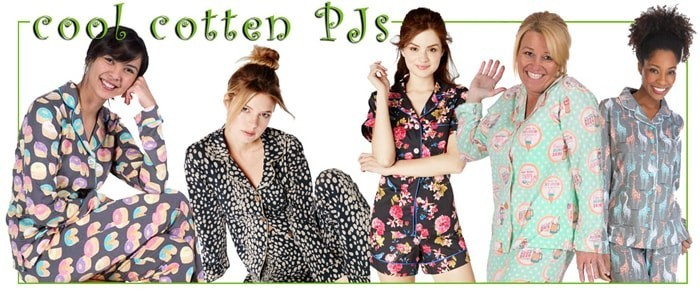 Cool Cotton Pajamas for Summer