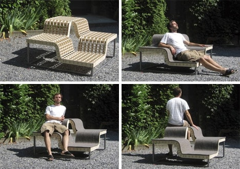 Creative Outdoor Seating