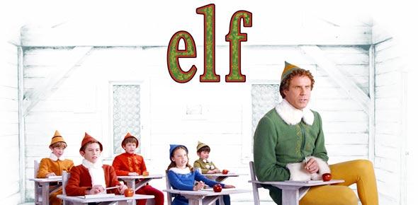 Elf Christmas Movie Marathon Matching Pajamas