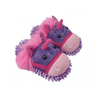 Fuzzy Friends 'Unicorn' Slippers from Aroma Home