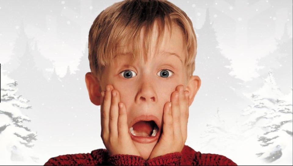 Home Alone Christmas Movie Marathon Matching Pajamas