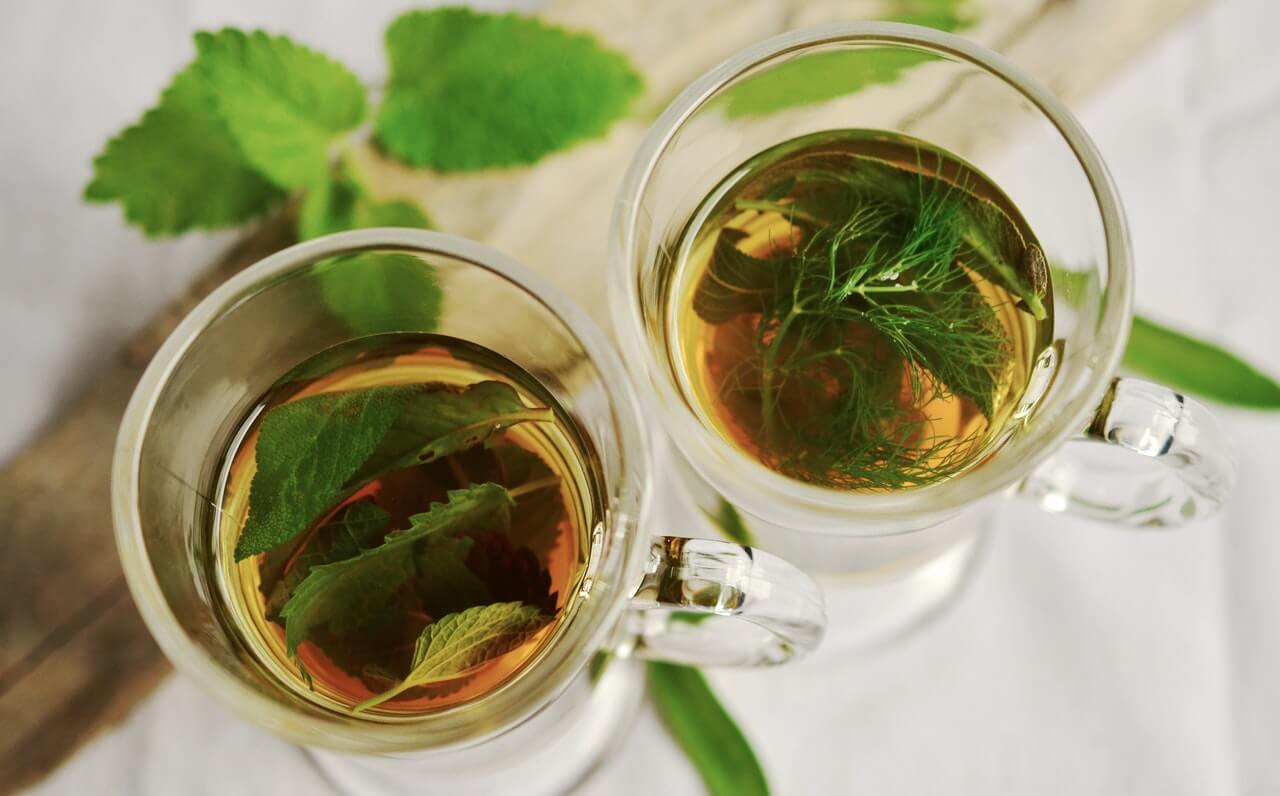 Moroccan Mint Tea in Your Pajamas