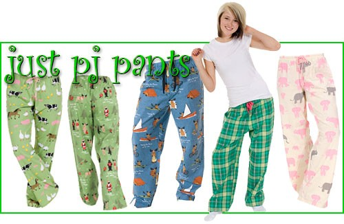 Just Pajama Pants for Back-to-College