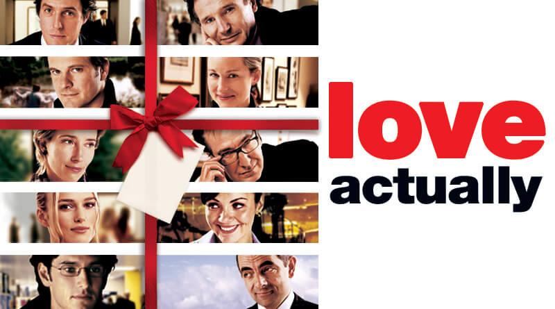 Love Actually Christmas Movie Marathon Pajamas