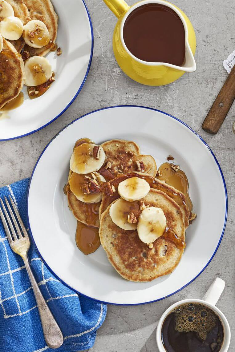 Banana Bread Flapjacks from Country Living