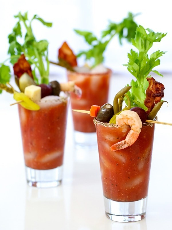 Loaded Bloody Mary from Foodie Crush