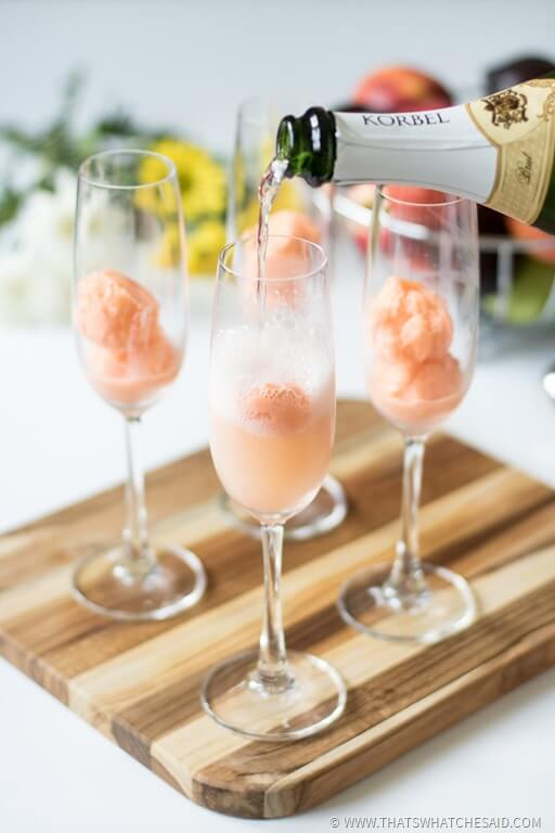 Summer Mimosa Floats from That's What Che Said