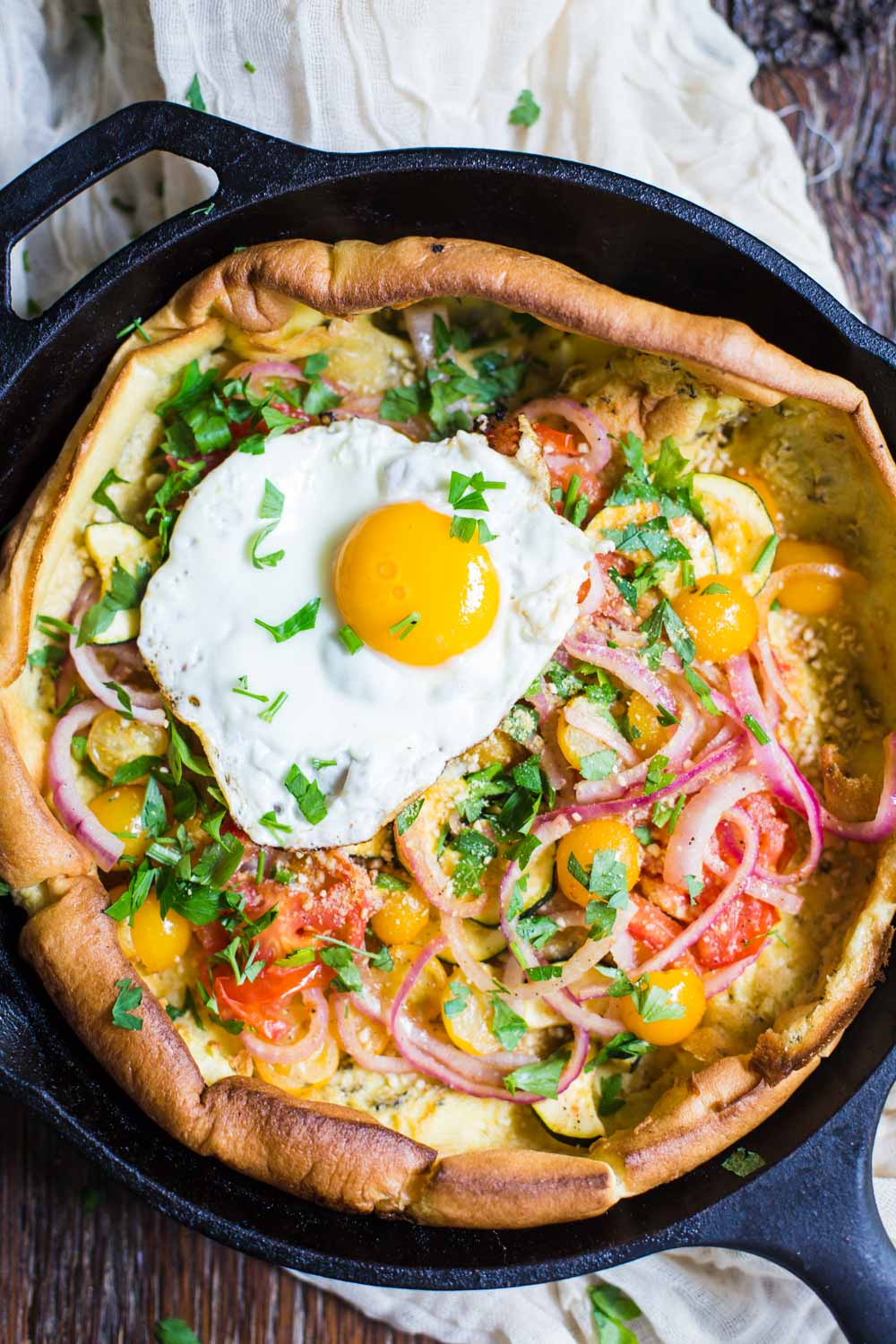 Savory Dutch Baby from Food with Feeling