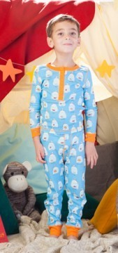 Munki Munki Goldfish Pajamas for Sleepovers