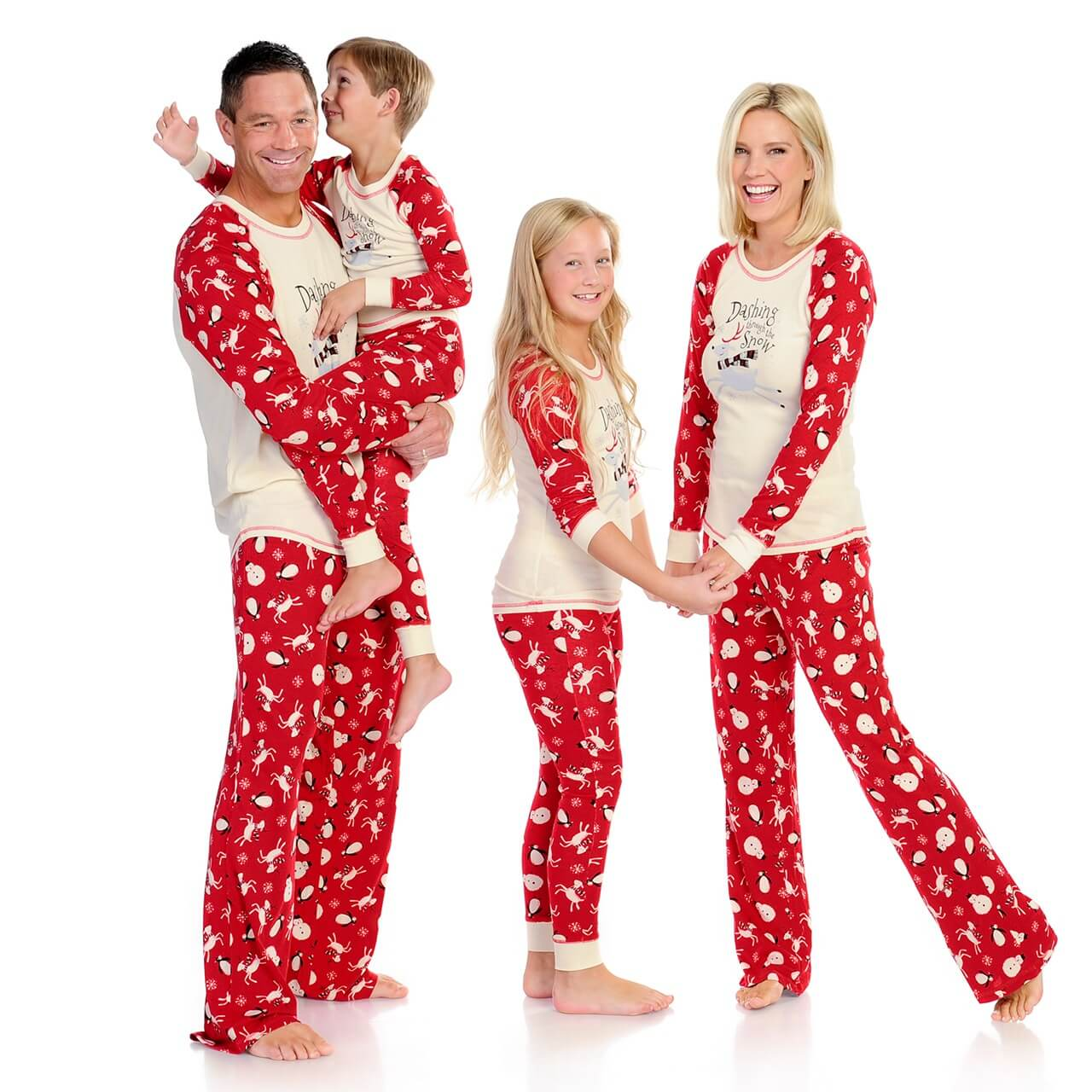 best matching family pajama selection