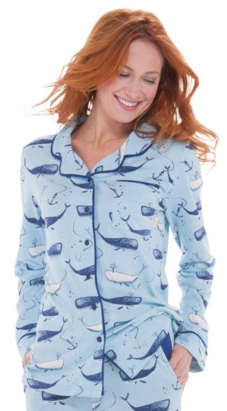 Munki Munki Blue Pajama Set