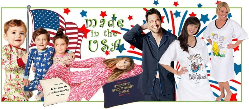 Pajamas Made In America
