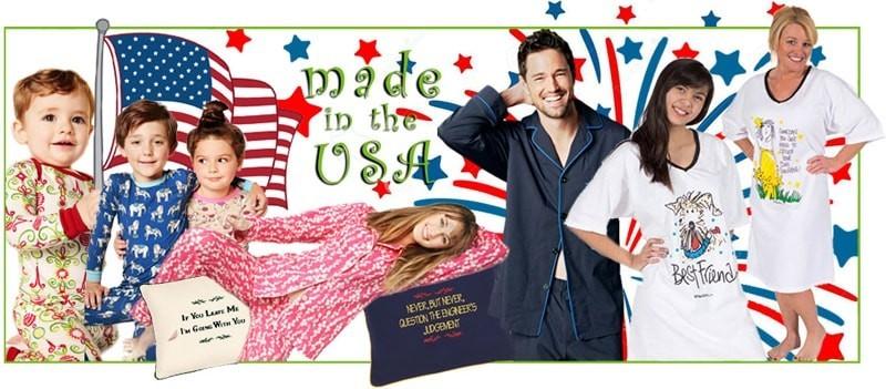 Pajamas Made In America