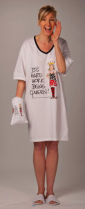 Pregnant Third Trimester Halloween Costume Nightgown