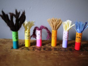 Rainy Day Finger Puppets