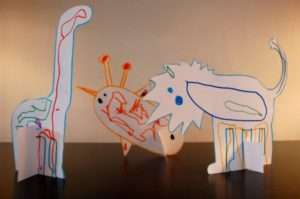 Pop Up Zoo Rainy Day Craft