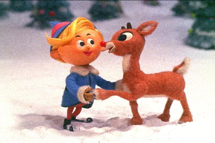 Rudolph Christmas Movie Marathon Matching Pajamas