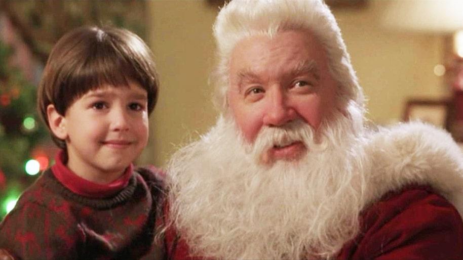 Santa Clause Christmas Movie Marathon Pajamas