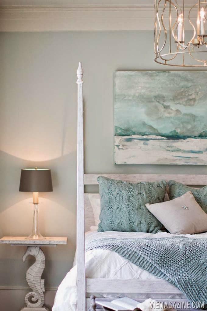 serene coastal bedoom