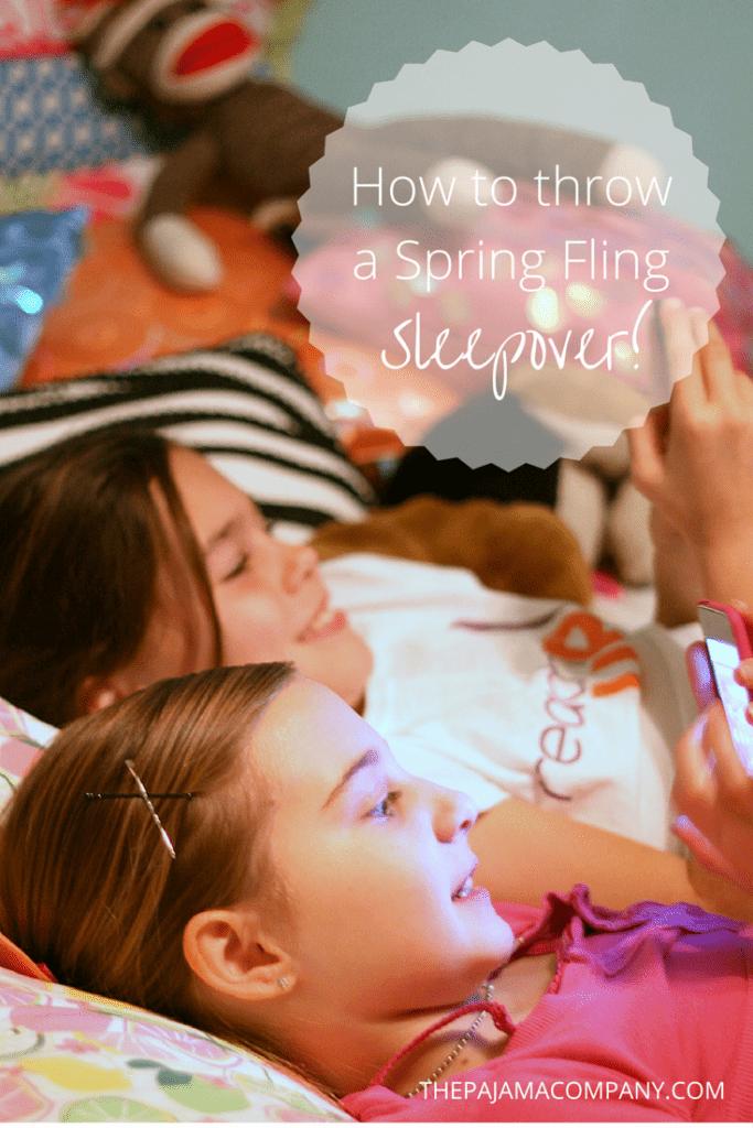 spring fling sleepover
