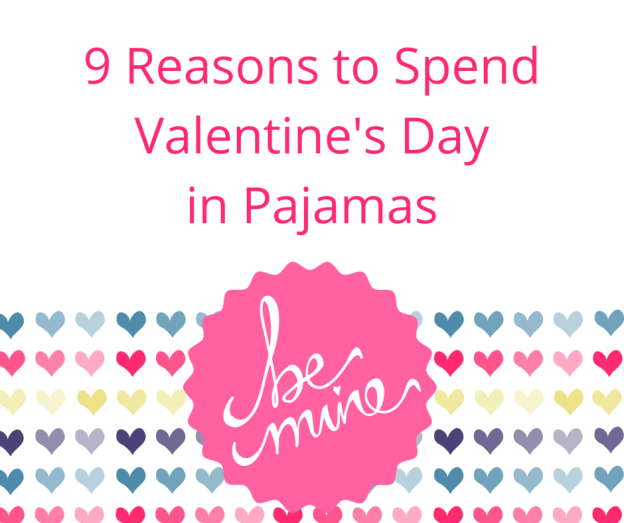 v-day in pjs