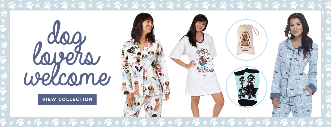 dog lovers pajamas collection