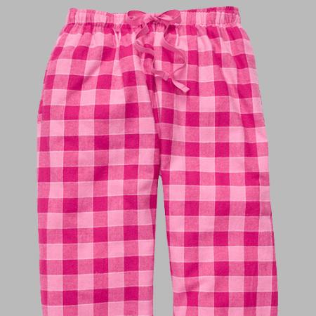5304b11f05 Boxercraft Bubblegum Pink Plaid Unisex Flannel Pajama Pant
