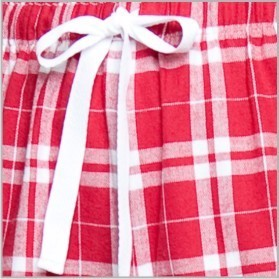 Boxercraft Cardinal Red Plaid Unisex Flannel Pajama Pant