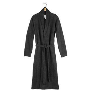 Kashwere Solid Black Lightweight Robe