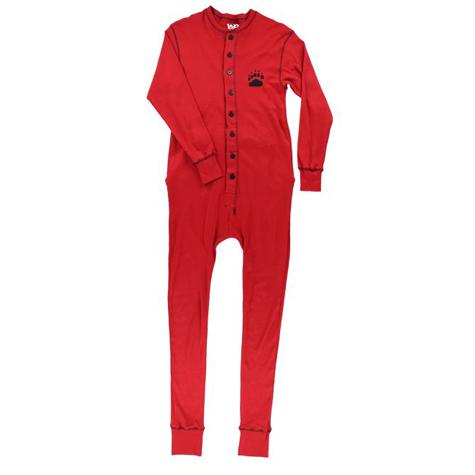 5a976d28322 Lazy One Adult Unisex Red Bear Bum FlapJack