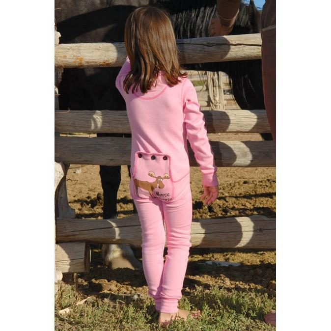 ac64e1c9139c Lazy One Kids Pink Moose Caboose FlapJack