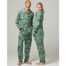 Warm Fleece Union Suits