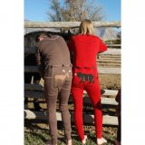 "Lazy One Adult Unisex Chocolate Brown ""Moose Caboose"" FlapJack"